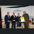 Verleihung der Goldenen Kammerpreismünze an Hans-Günther Müller
