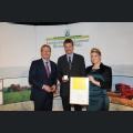 Verleihung der Goldenen Kammerpreismünze an Peter Strubel