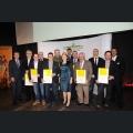 Gruppenfoto Preisträger der goldenen und silbernen Kammerpreismünze