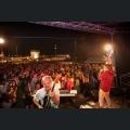 Musikband spielt auf dem  St. Albansfest-Weinfest ausgezeichnet