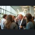Dr. Ludwig Tauscher,Weinbauamtsleiter mit Besuchern