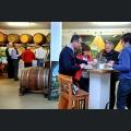 Besucher der Tastetival Tour durch Rheinhessen