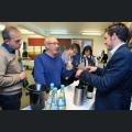 Fabian Mengel im Gespräch mit Gästen