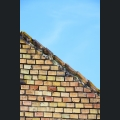 Historische Ziegeldächer in Sankt Johann