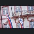 Fahnen der Mainzer Karnevalsvereinen