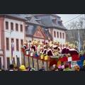 Umzugwagen am Rosenmontagsumzug Mainz