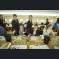 Weinausschenken bei Workshop