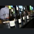 Weinflaschen der Winzervereinigung Rheinfront