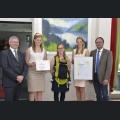 2. Preis WeinZeit in der Vinothek Bingen