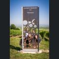 Gruppenfoto an der schönsten Weinsicht 2016
