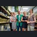 Kandidatinnen im Globus SB-Warenhaus